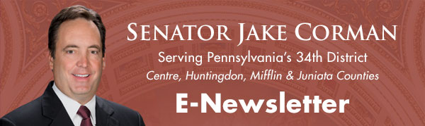 Senator Jake Corman E-Newsletter
